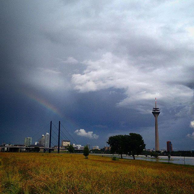 Regenwolken sind trotzallem richtig schön :-)