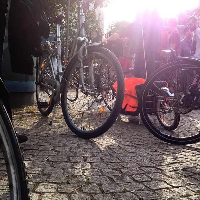 Criticalmass sammelt sich gerade am Fürstenplatz :-)