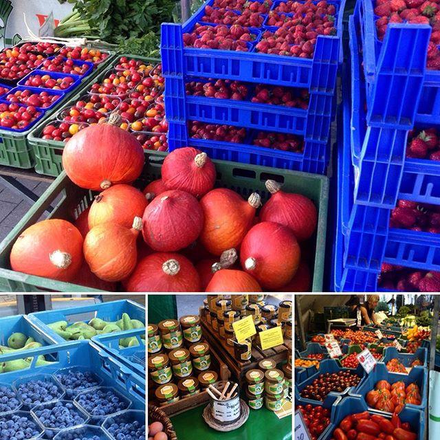Hochsommer auf'm Bauernmarkt