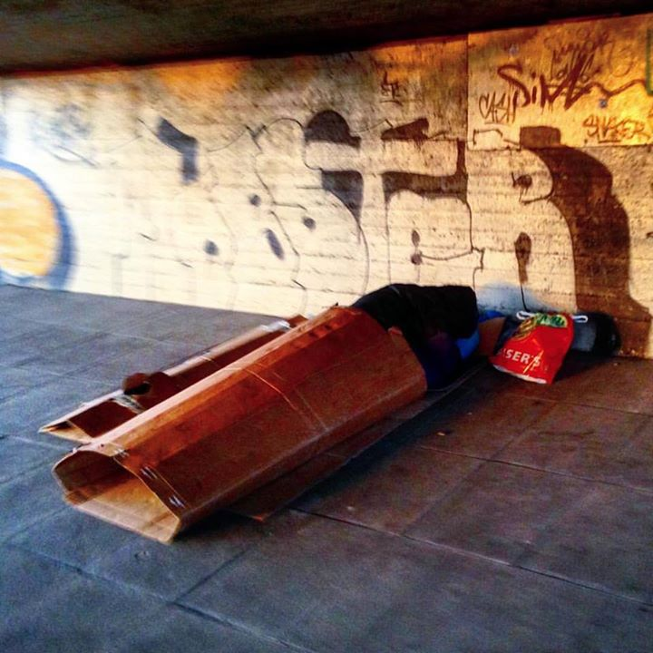 Lebensraum Straße. Obdachlos in Düsseldorf.