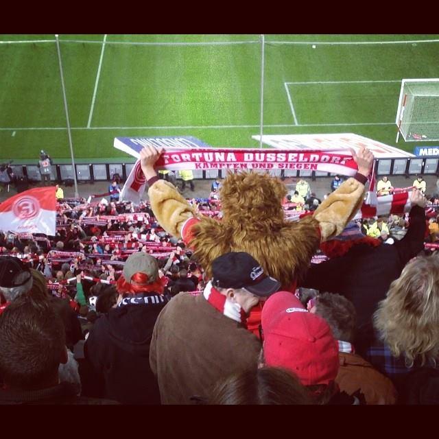 """Heute ist wieder """"Narrenfreiheit"""" im Stadion :-)"""