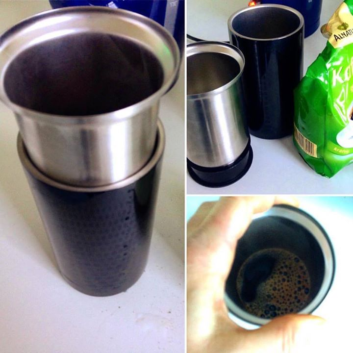 Es geht doch nix über einen frischen Kaffee, oder?