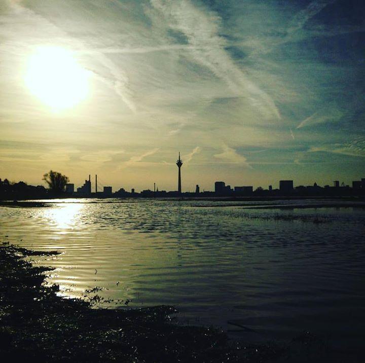 Himmel, Morgensonne, Treibgut und feuchte Socken. …