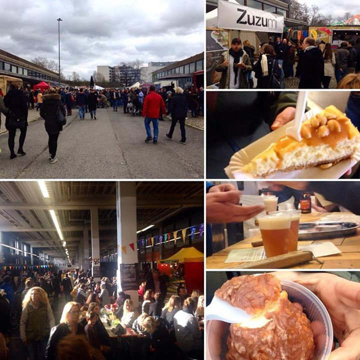 Streetfood Festival im postPOST-Grand Central.