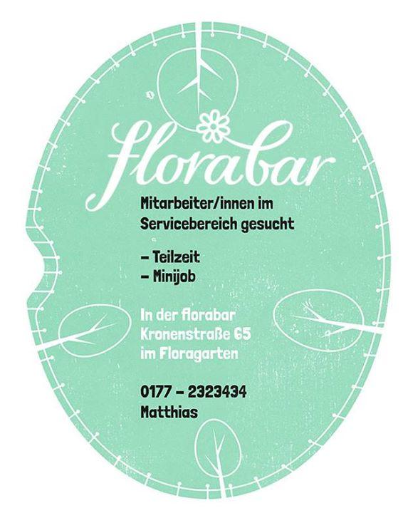 Die Florabar sucht Verstärkung