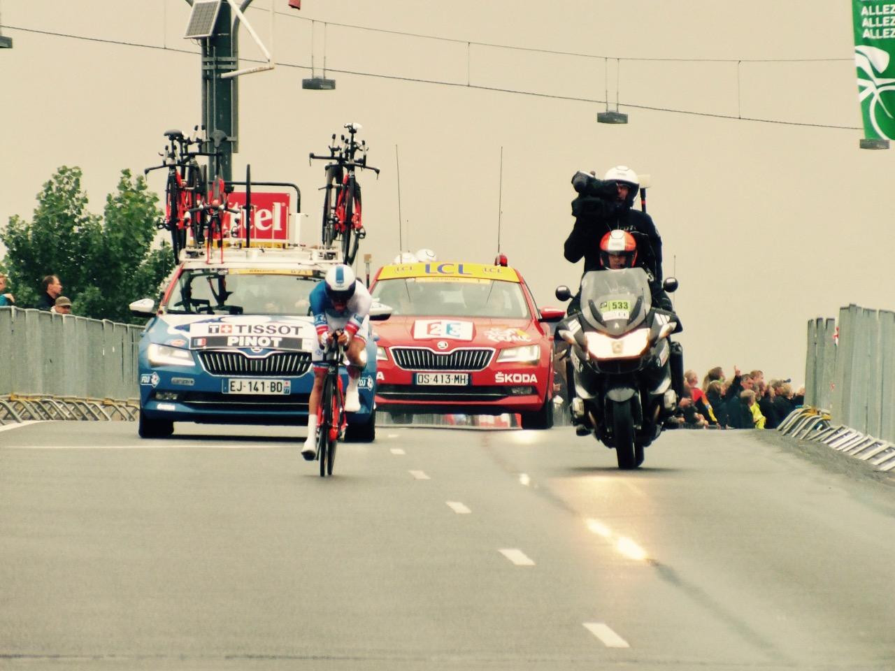 Tour de France in Klein-Paris