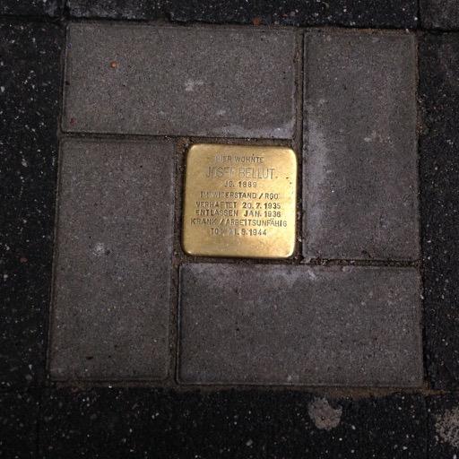 Stolperstein – Stadtrundgang durch Bilk