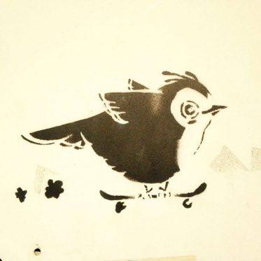 Skate or fly ;-) Ein wenig #Streetart beim ...
