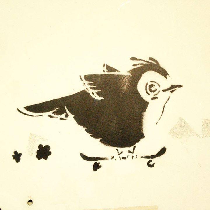 Skate or fly ;-) Ein wenig #Streetart beim …