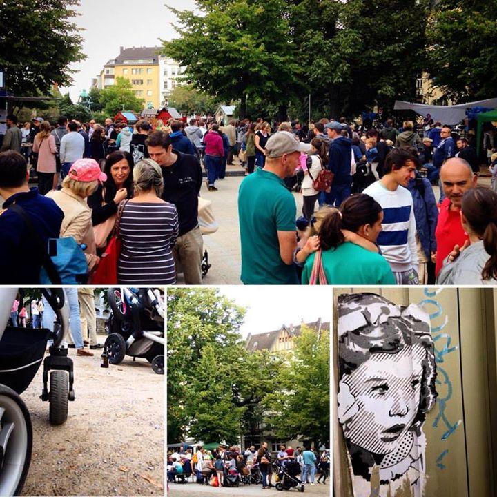 Buntes Sommerfest auf dem Fürstenplatz