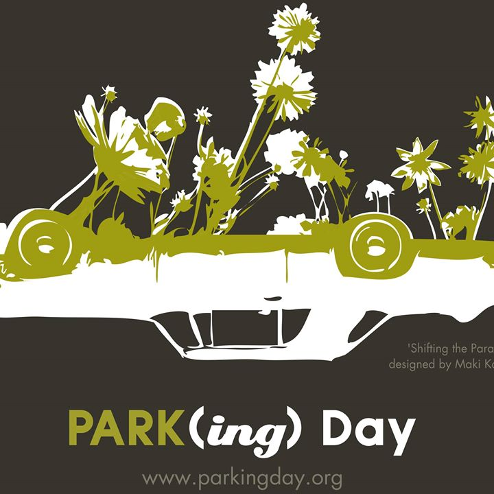 Park(ing) Day in Düsseldorf.