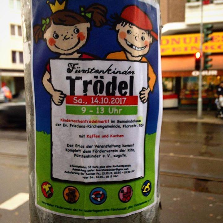 Trödelmarkt für Kindersachen bei den Fürstenkindern
