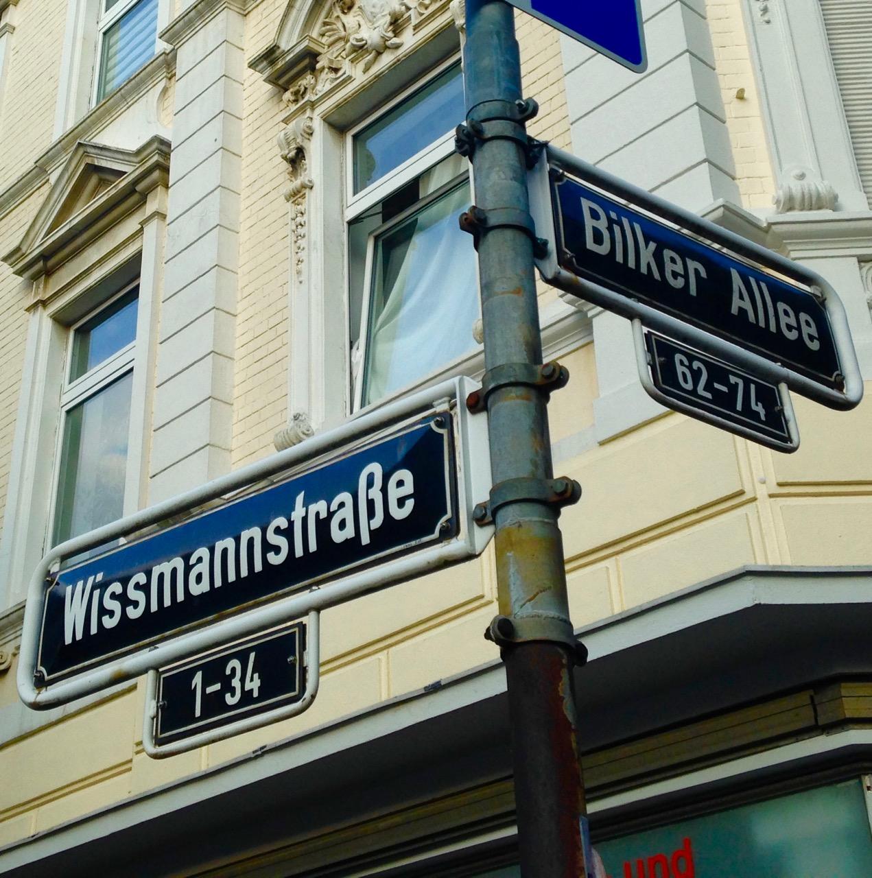 Straßennamen in Düsseldorf und ihr historischer Hintergrund