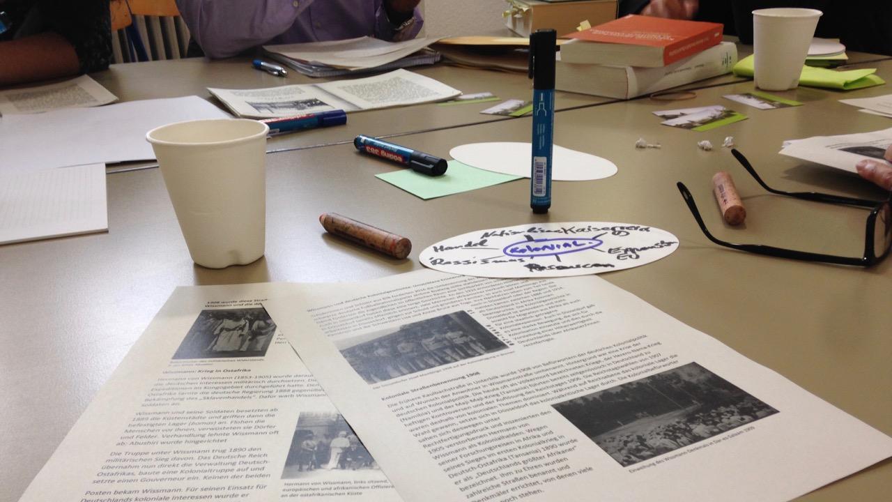 Ein (zu)kurzer Bericht über die Geschichtswerkstatt 'Kolonialismus und Wissmannstraße'