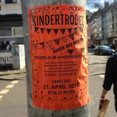 Trödelmarkt im Kindergarten St. Peter