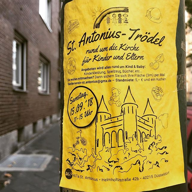 Kindertrödel am 15. September in der Kindertagesstätte St. Antonius