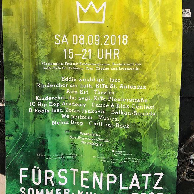 Sommerfest auf dem Fürstenplatz