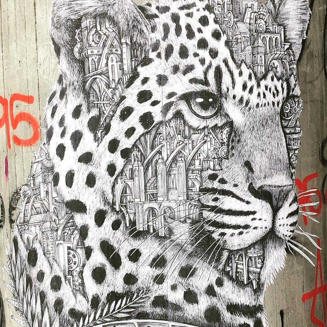 Ich bin von den Mechanical Animals immer wieder begeistert & fasziniert :-) Die von @a_r_d_i_f  sind richtige Kunstwerke und laden zum intensiven schauen ein :-) Ich liebe Streetart für ihre Vielfalt und schätze bunte Wände in Düsseldorf mehr, als graues Einerlei. Frage: Gibt es eigentlich so eine Art Graffiti- oder Streetartradar?
